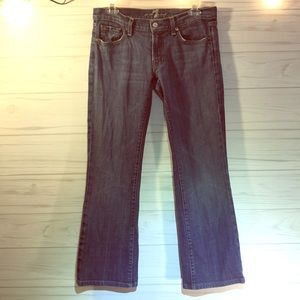 7 for All Mankind Bootcut 29x 27